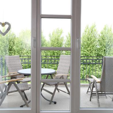 Balkon der Ferienwohnung Dörpskieker