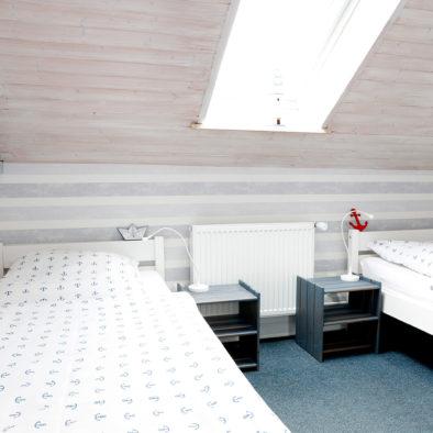 Kinderzimmer der Ferienwohnung Dörpskieker