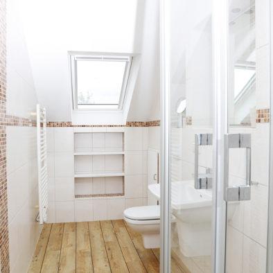 Badezimmer der Ferienwohnung Buernsuite
