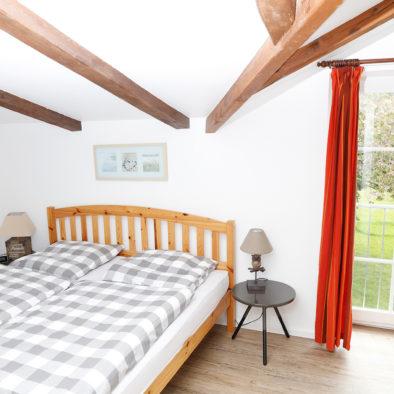 Schlafzimmer der Ferienwohnung Landleev