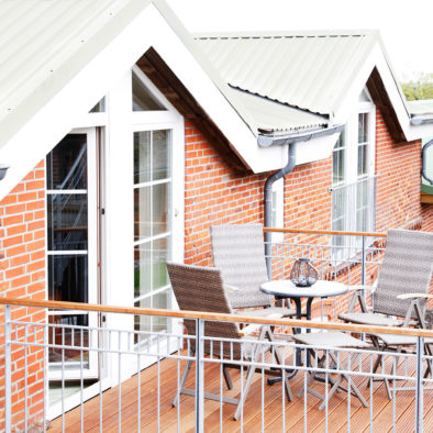 Balkon der Ferienwohnung Sperlings Lus