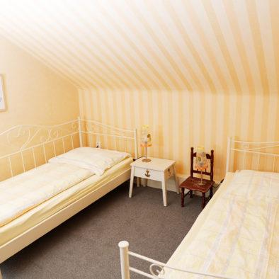Kinderzimmer der Ferienwohnung Sünnschien
